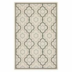 Anchor your patio seating group or define space in the den with this Turkish-made indoor/outdoor rug, showcasing a quatrefoil ogee motif for eye-catching appeal.  Product: RugConstruction Material: 100% PolypropyleneColor: BeigeFeatures:  Power-loomedMade in TurkeyQuatrefoil ogee motifSuitable for indoor and outdoor use  Note: Please be aware that actual colors may vary from those shown on your screen. Accent rugs may also not show the entire pattern that the corresponding area rugs have.