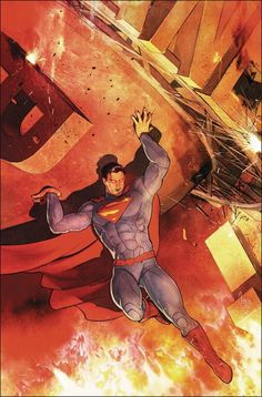 """DC COMICS (W) Peter J. Tomasi (A/CA) Mikel Janin The """"Final Days"""" epic concludes in one explosive fight as the new master villain uses Superman's own solar super flare power against everyone. Can even"""