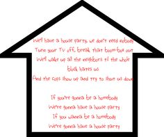 House Party ~ Sam Hunt