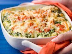 lasagne met #zalm en #spinazie vanavond? @Maren Tielens @Tine Leunis