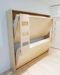 """Find out additional details on """"murphy bed ideas ikea apartment therapy"""". Check out our web site. Bunk Beds Small Room, Modern Bunk Beds, Modern Murphy Beds, Bunk Beds With Stairs, Cool Bunk Beds, Kids Bunk Beds, Small Rooms, Loft Beds, Murphy Bunk Beds"""