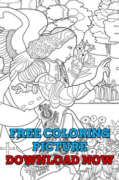 Free Adult Coloring Book Page My Jesus