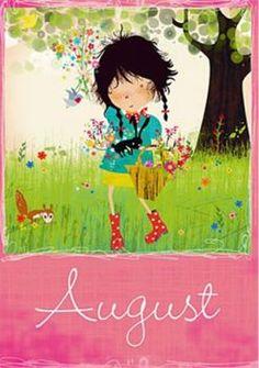 Postkarte Elisandra August 5268