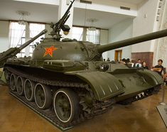 A Chinese Type 59 tank at the Beijing Military Museum