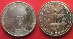 1995 Marshall-Inseln MARSHALL-INSELN 5 Dollars 1997 DIANA PRINCESS of WALES Ku-Ni # 92997 PP Princess Diana Memorial, Princess Of Wales, Coins, Island