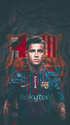 Coutinho wallpaper by georgekev - 52 - Free on ZEDGE™ Best Football Players, Good Soccer Players, Football Love, Football Art, Soccer Art, Soccer Poster, Soccer Games, Coutinho Wallpaper, Mbappe Psg
