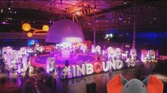 At the Hubspot Inbound Marketing event in Boston