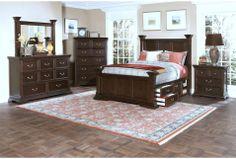 El Dorado Queen Storage Bed $895