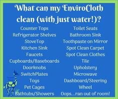 Member Article posted by Elesa Labanz on Sassy Direct. #norwex #envirocloth #howtoclean #toothpaste #upholstery #toiletseats