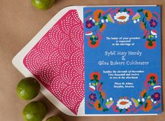 #otomi #wedding #invitation by Vigilante Paper | via PLY: The Ultimate Paper Blog