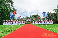 Scottish Theme Wedding Ceremony & Reception