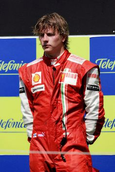 Kimi Raikkonen, a happy man on the podium The Iceman Cometh, Gp F1, Sports Celebrities, Ferrari F1, F1 Drivers, Motorcycle Design, Car And Driver, Formula One, Race Cars