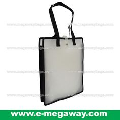 1f376d4999  A4  Size  Fit  Semi-See-Through  Transparent  Merchandise  Goodies   Takeway  Buyaway  Stationery  Shoulder  Bag  Carrier  Shop  Bag  Packaging   Event ...