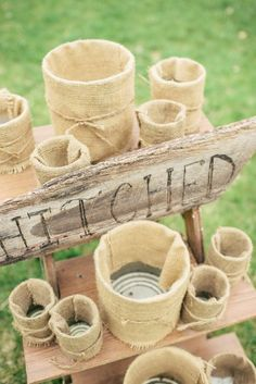 """Julie & Jim's Rustic Tennessee Intimate Wedding: A just """"Hitched"""" toss game"""
