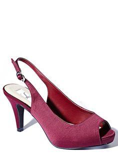 Navy Patent Kitten Heel Shoes Red Herring