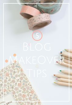 5 easy Blog makeover tips by #CityGirlSearching