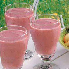 Blackberry Banana Smoothies - I use Greek Yogurt in mine so I get the protein