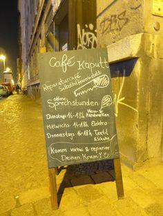 Wie ihr eure Lieblingsstücke vor der Mülltonne bewahren könnt: Ein Besuch im Leipziger Café kaputt. Stellt euch folgendes vor: Ihr wartet morgens...