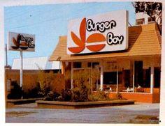 Burger Boy, 1980s. From Facebook page La Ciudad de Mexico en el Tiempo #mexico #vintage
