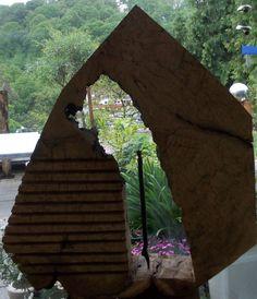 Kunst Holzunikate Wohnskulpturen Stahlunikate Betonunikate - Roland Hippchen Möbelbildhauer Andersdenker Kunst-Samurai Skulpteur Holzobjekte Stahlobjekte
