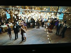 footloose prom. I want a wedding reception like this