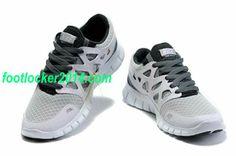 Nike Free Run 2 For Men Running Shoes Gray Black