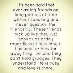 Love all my friends near and far even though we dont talk or see each other often I always know your there :)