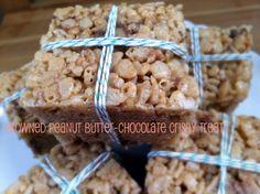 Salted Peanut Butter Rice Krispy Treats
