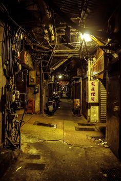 Cyberpunk is the only punk Cyberpunk City, Urban Photography, Street Photography, Kowloon Walled City, Arte Sci Fi, Slums, Environment Design, Future City, Urban Landscape