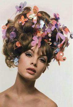 Jean Shrimpton for Vogue, 1964.