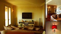 Décoration intérieur de villa, système audio video domestique