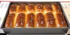 Cookie Recipes, Dessert Recipes, Cooking Bread, Hamburger Buns, Strudel, Hot Dog Buns, Foodies, Bacon, Bakery