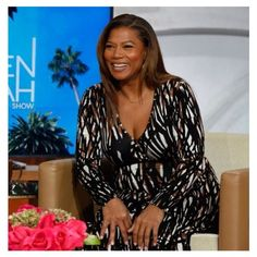 Our favorite Queen looking radiant as ever in her #RachelPally Long Wrap Dress on the #QLshow