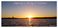 'simplicity is the key to brilliance' Sunset 16feb14 Amstelveen De Poel