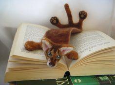 Splat Custom your cat as a bookmark by BenMcfuzzylugs on Etsy
