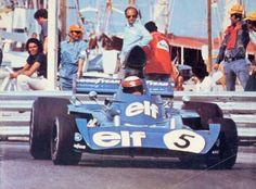 1973 Monaco GP, Monte Carlo - Jackie Stewart - Tyrrell-Ford 006 Cosworth DFV #5 - Elf Team Tyrrell - W i n n e r (ph : blogspot.com)