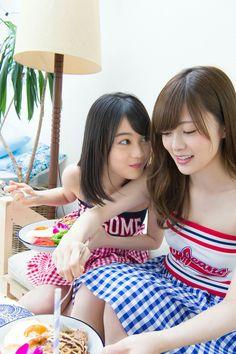 NGZ46 - SHIRAISHI Mai 白石麻衣 & IKUTA Erika 生田絵梨花 #まいやん #いくちゃん #乃木坂46 #1期生