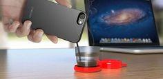 Capa de celular promete proteger aparelho e fazer café ao mesmo tempo