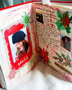 Christmas journal, add to it each year.  what a great idea!