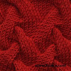 knitca: 5 gorgeous cable stitches for chic knits