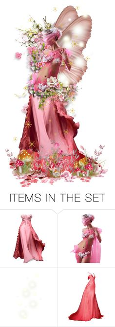 """""""Pink Faery """" Summer Faery Masquerade Ball """""""" by girlinthebigbox ❤ liked on Polyvore featuring art, Summer, fairy and masqerade"""