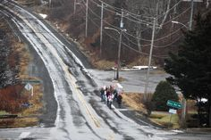 Images of women's marches around the world showed massive crowds spilling down streets. Meanwhile, this was the scene in Sandy Cove, Nova Scotia, a place with a permanent population of just 65 people.