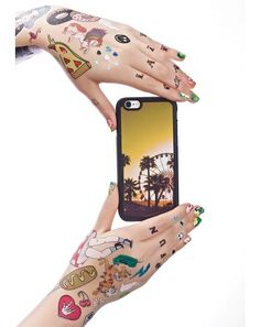 Case Taboo Festival Fever iPhone 6/6+ Case we're dreamin' of those endless days all year round, bb. This dope iPhone case features a raised black bumper to keep yer memories intact and a nostalgic graphic of the Coachella Valley sunset 'n palm trees.