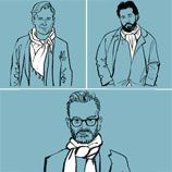 How to Wear a Scarf Well with Robert Geller, Umit Benan, and J.Crew's Frank Muytjens: The Daily Details: Blog
