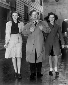 Judy Garland, Micky Rooney, and Shirley Temple