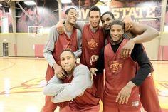 Love! Men's Basketball #ISUWinningForPinning