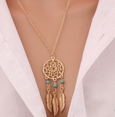 Free Dream Catcher Pendant Necklace. https://style-restyle.myshopify.com/collections/frontpage/products/free-plus-shipping-dream-catcher-pendant-necklace-for-a-limited-of-time