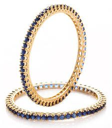 Buy Blue Cubic Zirconia bangles-and-bracelets bangles-and-bracelet online