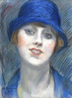 by Charles Camoin (French Harlem Renaissance, Illustrations, Illustration Art, Art Deco, Best Portraits, Pastel, Henri Matisse, French Artists, Woman Painting