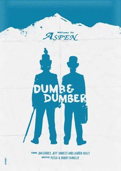 Minimalist Movie Poster: Dumb and Dumber by daniel norris
